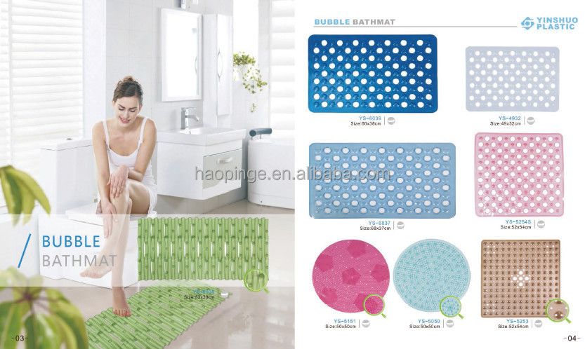 Pvc Badmat/plastic Vloer Matten/badkamer Matten - Buy Badkamer ...