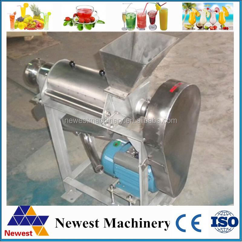 Industrial Slow Centrifugation Fruit Juicer supplier/industrial citrus juicer/fruit pulp making machine