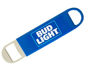 Stainless Steel And PVC Cover Bottle Opener