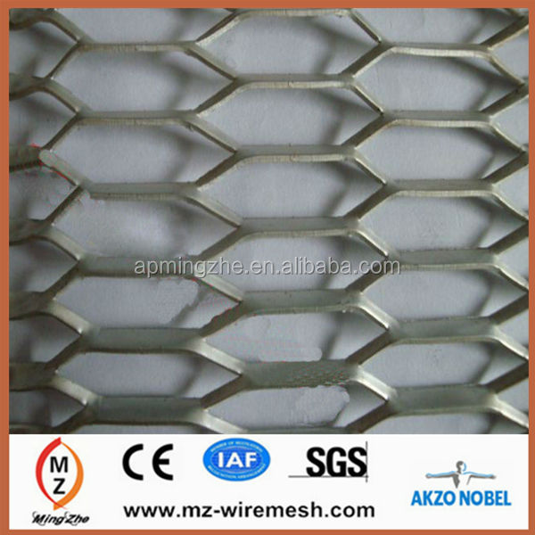 2014 hot sale electro galvanized heavy size expanded metal mesh for flower bed fence/backyard fence alibaba express