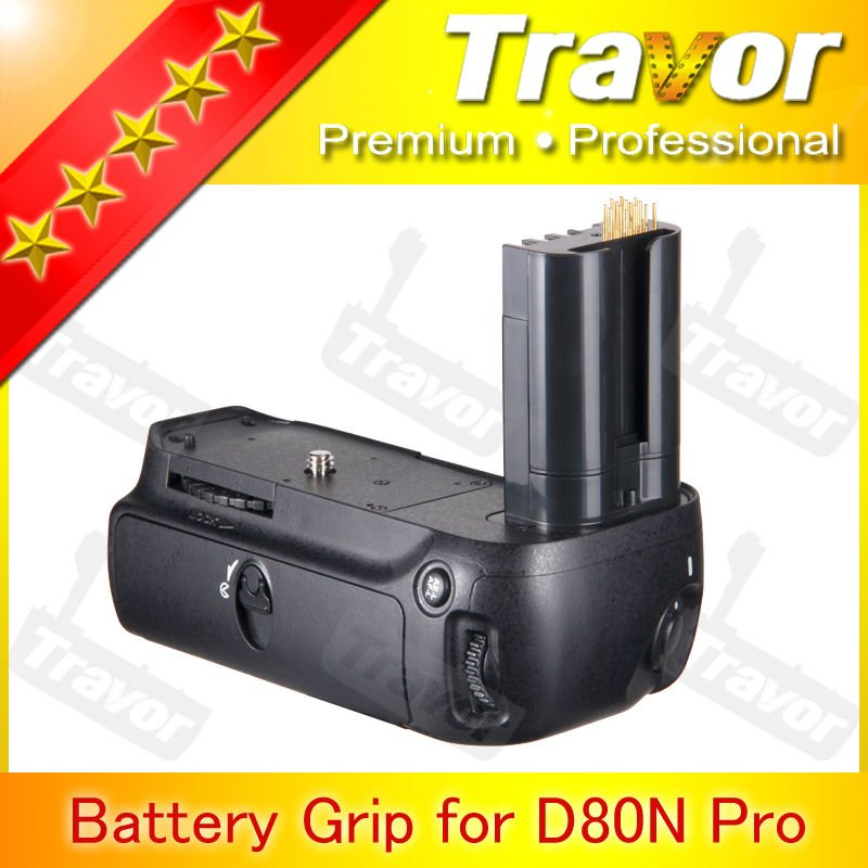 Travor Brand MB-D80 replacement for NIKON D80 D90 Battery grip for nikon camera