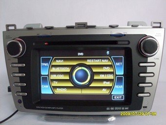 Caska Mazda 6 car dvd player for 09, 2010 with GPS, support BOSE, PIP, 6V-CDC