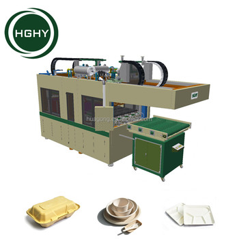 HGHY Best Price Biodegradable Paper Food Container Equipment Tableware Paper Plate Pulp Moulded Machine  sc 1 st  Alibaba & Hghy Best Price Biodegradable Paper Food Container Equipment ...