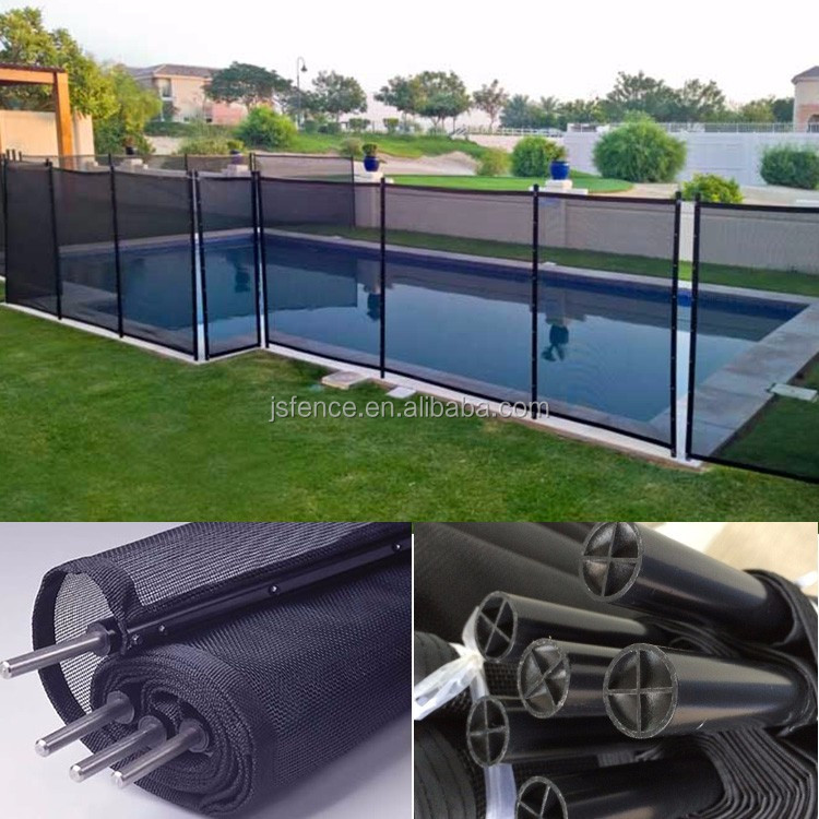 Professional Manufacturer Promotional Prices Black Pool Fence
