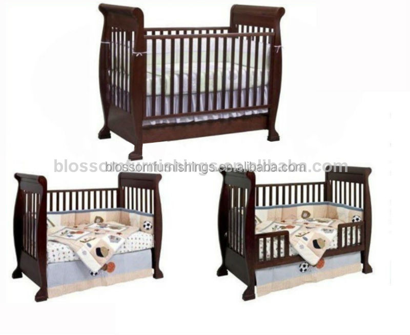 Trineo de madera de pino cuna cuna bebe cuna cunas para for Cunas para bebes de madera