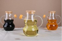 High quality hand made mouth blown cooking oil cruet wholesale