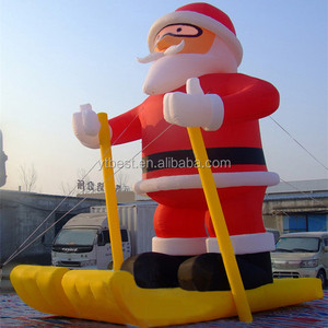 Best Brand Inflatable Outdoor Christmas Decoration/Inflatable Santa Claus Character