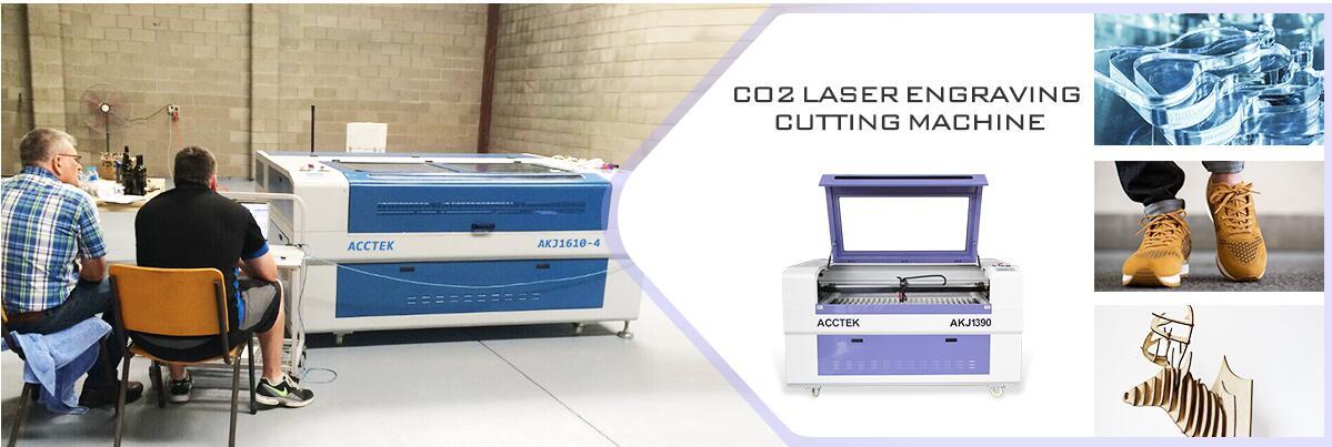 Hot sale AKJ1390 wood acrylic epilog laser engraver machine