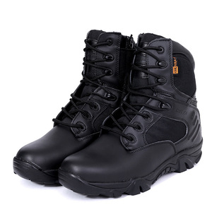Army Fan Combat Military Boots Military Tactical Boots Desert Leather Outdoor Boots