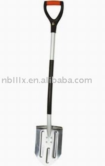 Stainless steel children snow spade