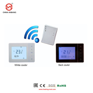 Programmable warm floor radiant thermostat with 3M sensor wire