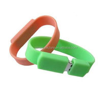 Hot Sale Bulk 1GB to 128GB Promotion Cheap Price Usb Flash Drive Wristband