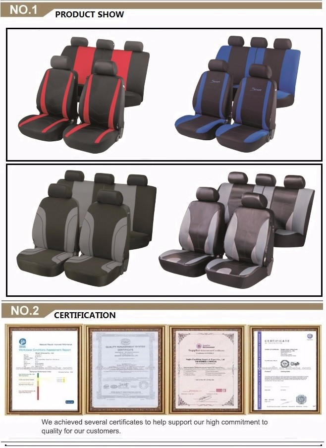 New Design High Quality seat cover durable car seat cover