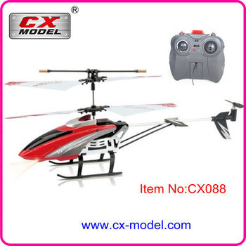 Hot Toys 24cm Medium CX088 Helicopter Can Fly Long Time Drone 35CH 37v IR