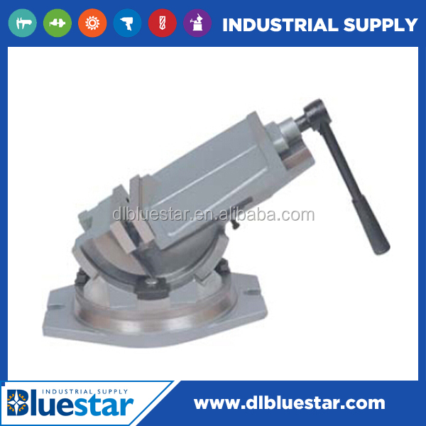 high quality tilting machine vise/ tilt & swivel base milling vises