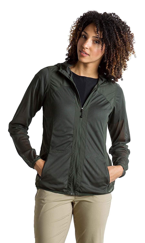 ExOfficio Women's BugsAway Damselfly Lightweight Hooded Jacket