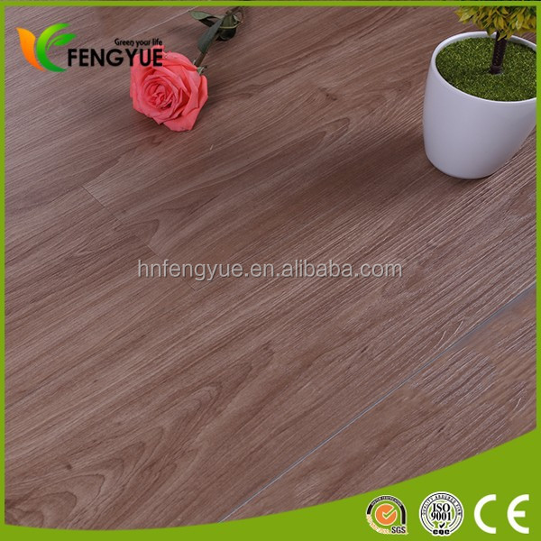 4.0mm Waterproof Interlocking Click Vinly Flooring Plank with Deep Embossed Surface