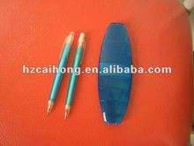promotional pen set ch6591 ballpen with pensile in a set
