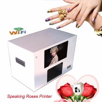Good Price Nail Art Machine Digital Speaking Rose Fresh Flower