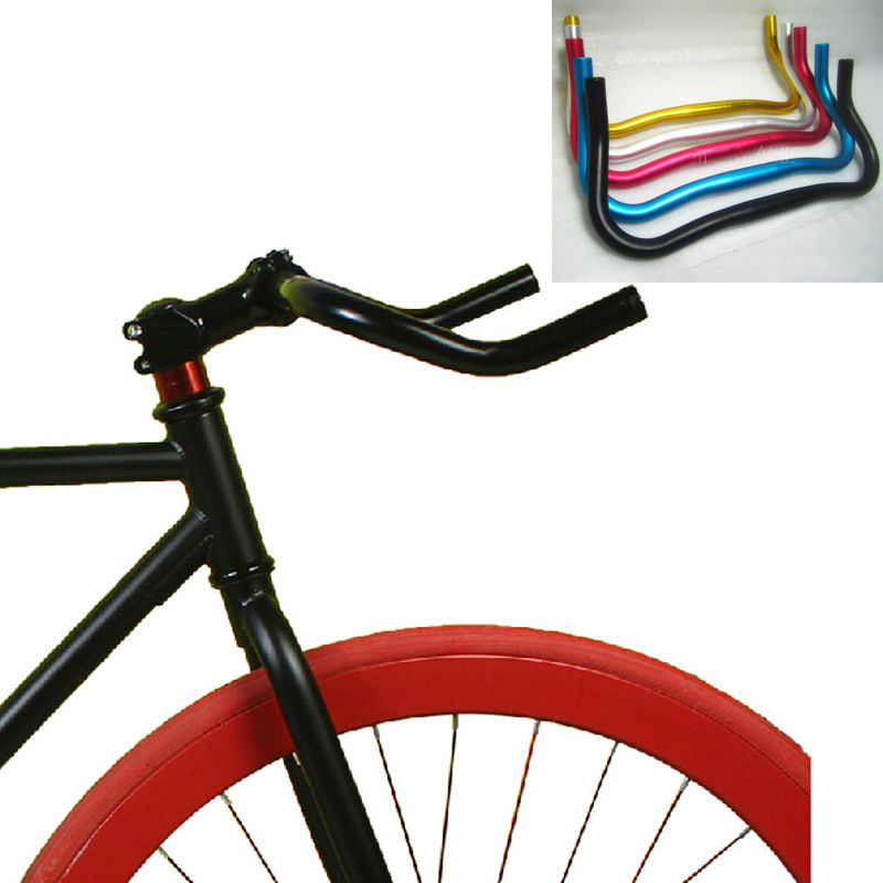 25.4mm Handle bars Bike Riser Bar Fixed Gear Tool kit Easy Install Replacement