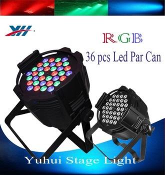 Led Par 64 36 X 3w Rgb Dmx Stage Lighting American Dj Led Lights ...