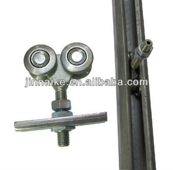 Carbon Steel Hanging Door Roller Track Sliding Wheel
