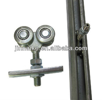 Carbon Steel Hanging Door Roller Track, Sliding Door Wheel Track