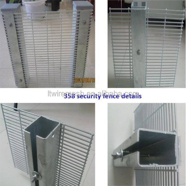 Hot selling high security anti climb fence panels