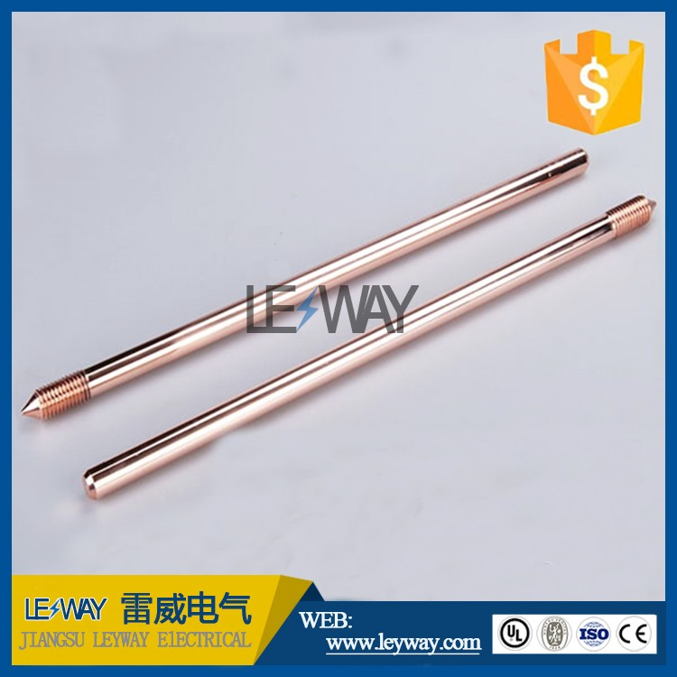 super quality copper clad steel ground rod made in China