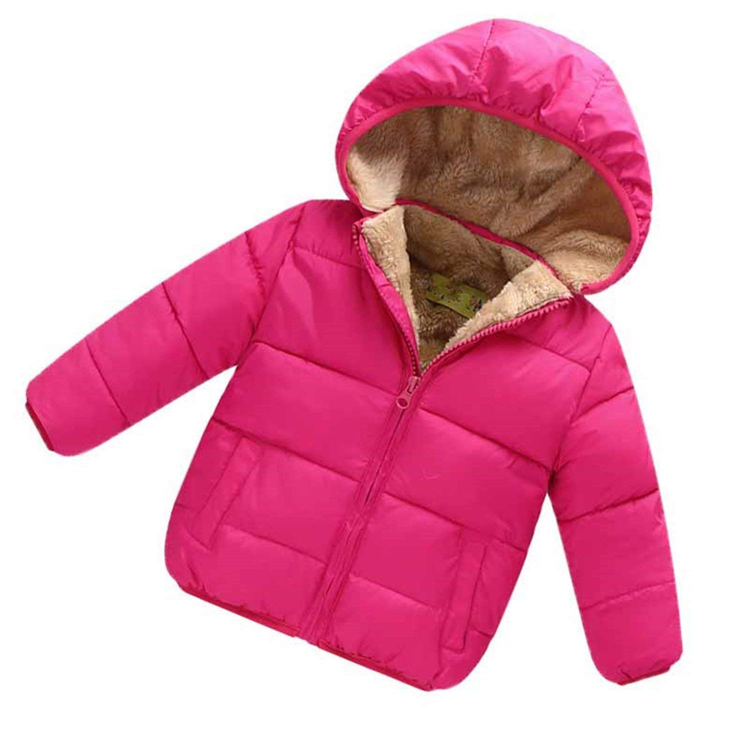 ffd3809a6 Samuel Roussel Baby Boys Snowsuit Cotton Girls Coats Jackets Baby Thicken  Winter Warm Outerwear Clothes