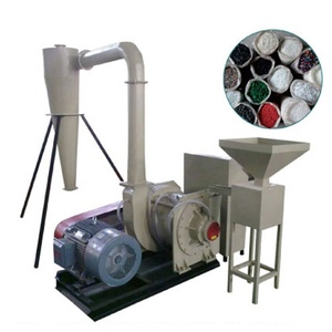 Vertical Double Disc Blade PVC Grinder Waste PP PE Pulverizer Machine for Plastic