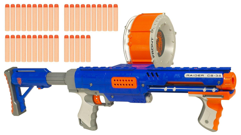 ... 20 · Nerf N-Strike Raider Rapid Fire CS-35 Dart Blaster