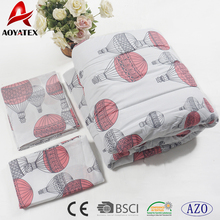 7pcs super comforterbale wholesale China supplier disperse printing bedding comforter set