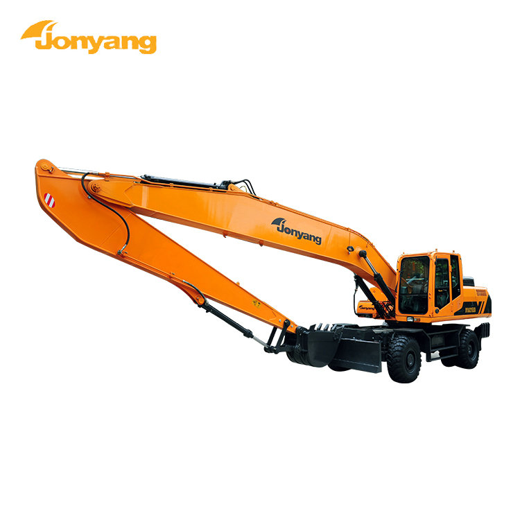 Manufacturer supplier chinese new wheel excavator for sale