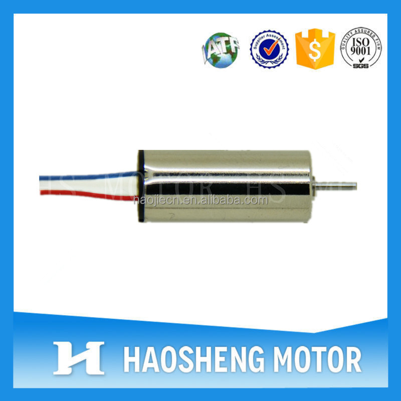 3.0V coreless dc motor(Diameter 8.5mm)