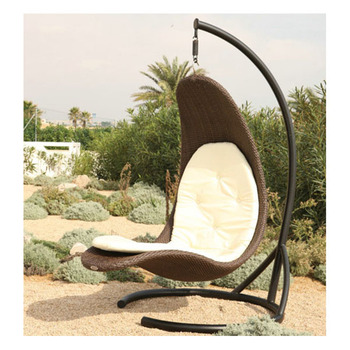 Patio Egg Shaped Wicker Chairs Cheap Hanging Chairs Garden Indoor Metal Hanging  Basket Chair