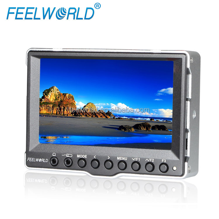 Feelworld outdoor portable hdmi monitor for digital photo camera 5d mark ii
