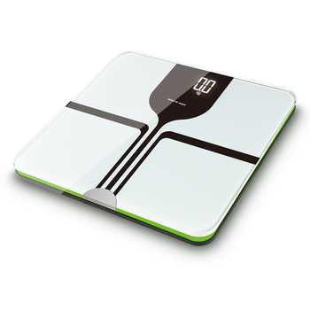 Electronic personal scale digital body fat/hydration monitor scale