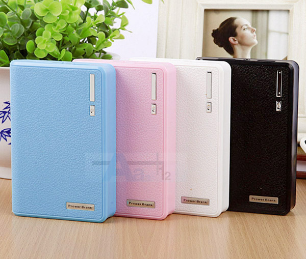 Free shipping! 20000mAh Power Bank External Portable Backup Battery Double USB Charger For Mobile Phone