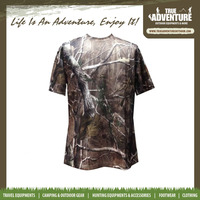 summer hiking camouflage long sleeve shirt wholesale fishing hunting T shirt