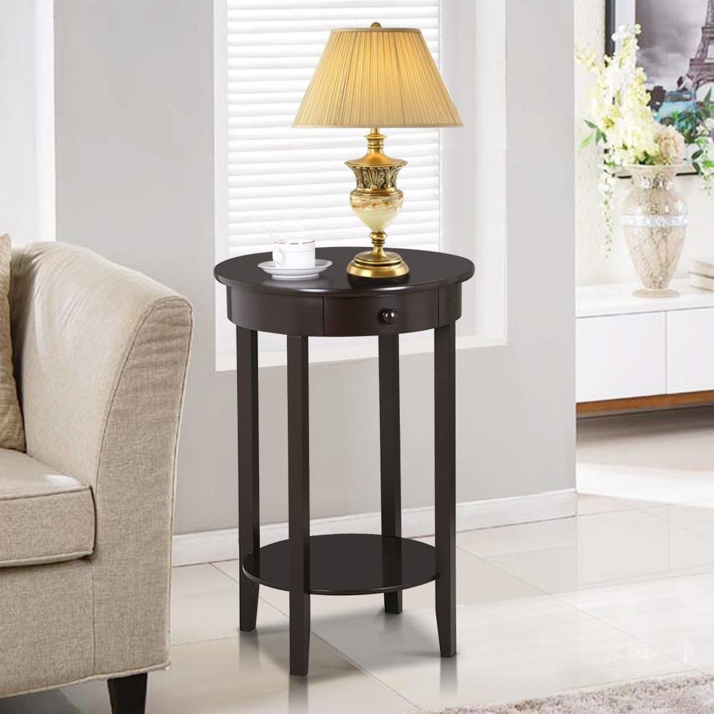 Cheap Round End Table With Drawer, find Round End Table With Drawer ...
