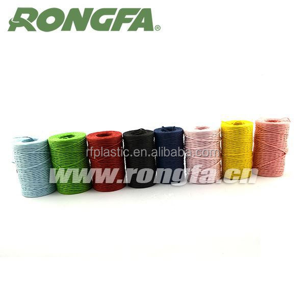 degradable bright-colored paper baler rope twine (inside has iron wire)