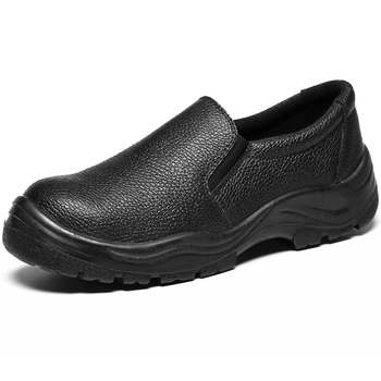 Office Steel Toe Genuine Leather Safety