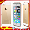 clear hard cover LED bright flash up light bumper cases for iphone 6 4.7 inch