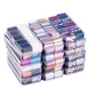 10 Design/set 2.5*100cm Sky Starry AB Color Holographic Nail Art Transfer Foil Stickers Paper