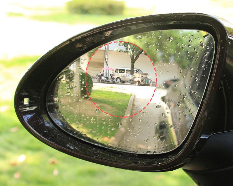 2 pcs Hot selling Anti-fog Car Rearview Mirror Protective Film
