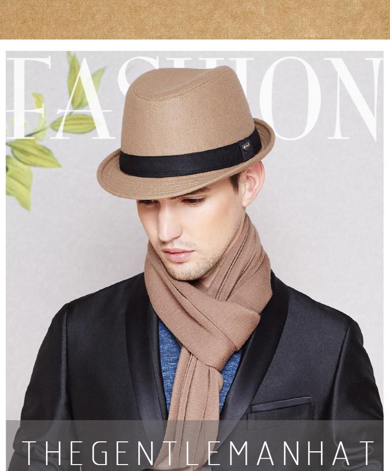 de1616279f5 vintage fedora hat black fedora hats for men wool felt hat mens hats  fedoras mens fedora ...