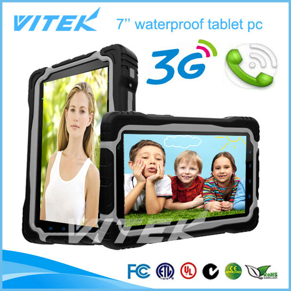 Best Price 3G Android IPS industrial tablet pc 7""