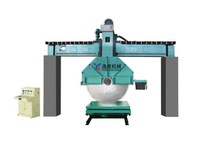 QJS90 automatic Bridge diamond disc used marble cutting machine for sale