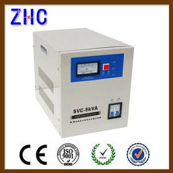 Svc 5000va 5000w Single Phase Ac Automatic Automatic Voltage